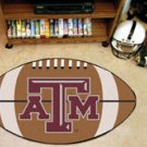 "Texas A&M University 22""x35"" Football Shape Area Rug"