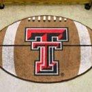 "Texas Tech University 22""x35"" Football Shape Area Rug"