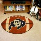 "University of Colorado 22""x35"" Football Shape Area Rug"