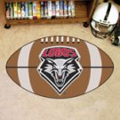 "University of New Mexico Lobos 22""x35"" Football Shape Area Rug"
