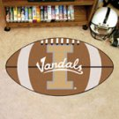 "University of Idaho Vandals 22""x35"" Football Shape Area Rug"