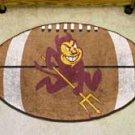 "Arizona State University Sun Devils 22""x35"" Football Shape Area Rug"