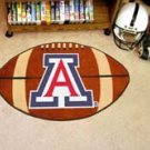 "University of Arizona 22""x35"" Football Shape Area Rug"