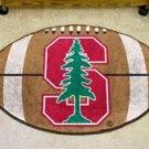 "Stanford University 22""x35"" Football Shape Area Rug"