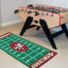 "NFL-San Francisco 49ers 29.5""x72"" Large Rug Floor Runner"