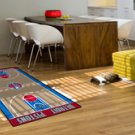"NBA-Detroit Pistons 29.5""x54"" Large Court Runner Rug"
