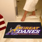 """University at Albany Great Danes 34""""x44.5"""" All Star Collegiate Carpeted Mat"""