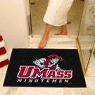 """U Mass Minutemen 34""""x44.5"""" All Star Collegiate Carpeted Mat"""