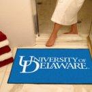 "University of Delaware 34""x44.5"" All Star Collegiate Carpeted Mat"