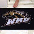 """Western Michigan University WMU 34""""x44.5"""" All Star Collegiate Carpeted Mat"""