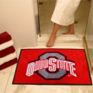 "Ohio State University 34""x44.5"" All Star Collegiate Carpeted Mat"