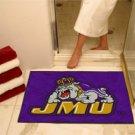 "James Madison University JMU 34""x44.5"" All Star Collegiate Carpeted Mat"
