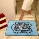 "University of North Carolina UNC Chapel Hill Tar Heels 34""x44.5"" All Star Collegiate Carpeted Mat"
