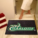 "University of North Carolina UNC Charlotte 34""x44.5"" All Star Collegiate Carpeted Mat"