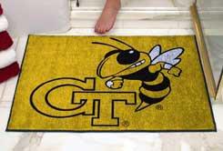 "Georgia Tech GT 34""x44.5"" All Star Collegiate Carpeted Mat"