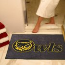 "Kennesaw State University Owls 34""x44.5"" All Star Collegiate Carpeted Mat"
