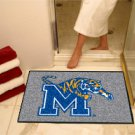 "University of Memphis 34""x44.5"" All Star Collegiate Carpeted Mat"