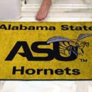 "Alabama State University ASU Hornets 34""x44.5"" All Star Collegiate Carpeted Mat"