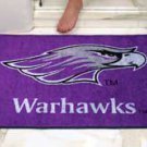 """University of Wisconsin Whitewater Warhawks 34""""x44.5"""" All Star Collegiate Carpeted Mat"""