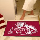 """Mississippi State University 34""""x44.5"""" All Star Collegiate Carpeted Mat"""