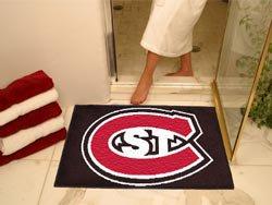 "St. Cloud State University 34""x44.5"" All Star Collegiate Carpeted Mat"