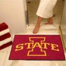 "Iowa State University 34""x44.5"" All Star Collegiate Carpeted Mat"