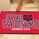 "Arkansas State University Red Wolves 34""x44.5"" All Star Collegiate Carpeted Mat"