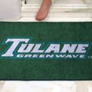 """Tulane University Green Wave 34""""x44.5"""" All Star Collegiate Carpeted Mat"""