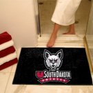 "University of South Dakota Coyotes 34""x44.5"" All Star Collegiate Carpeted Mat"
