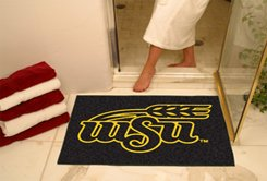 "Wichita State University WSU 34""x44.5"" All Star Collegiate Carpeted Mat"
