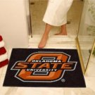 """Oklahoma State University O State 34""""x44.5"""" All Star Collegiate Carpeted Mat"""