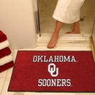 "University of Oklahoma Sooners 34""x44.5"" All Star Collegiate Carpeted Mat"