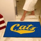 """Montana State University Cats 34""""x44.5"""" All Star Collegiate Carpeted Mat"""