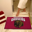 "University of Montana Grizzlies 34""x44.5"" All Star Collegiate Carpeted Mat"