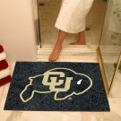 "University of Colorado 34""x44.5"" All Star Collegiate Carpeted Mat"