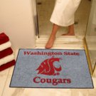 "Washington State University Cougars 34""x44.5"" All Star Collegiate Carpeted Mat"