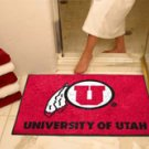 """University of Utah 34""""x44.5"""" All Star Collegiate Carpeted Mat"""