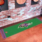 "NFL - Baltimore Ravens Putting Green Rug Runner 18""W x 72""H"