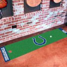 """NFL - Indianapolis Colts Putting Green Rug Runner 18""""W x 72""""H"""