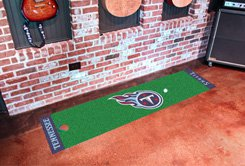 """NFL -Tennessee Titans Putting Green Rug Runner 18""""W x 72""""H"""