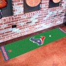 "NFL -Houston Texans Putting Green Rug Runner 18""W x 72""H"