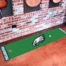 """NFL -Philadelphia Eagles Putting Green Rug Runner 18""""W x 72""""H"""