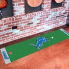 "NFL -Detroit Lions Putting Green Rug Runner 18""W x 72""H"