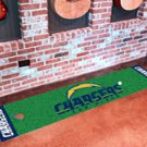 """NFL -San Diego Chargers Putting Green Rug Runner 18""""W x 72""""H"""