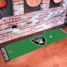 "NFL -Oakland Raiders Putting Green Rug Runner 18""W x 72""H"