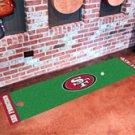 "NFL -San Francisco 49ers Putting Green Rug Runner 18""W x 72""H"