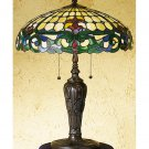 """Meyda Stained Glass 24"""" Tiffany D&K Duffner Kimberly Accent Table Lamp"""