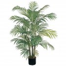 Nearly Natural Artificial 4' Areca Tropical Palm Silk Tree Home Decor 5001