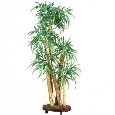"Nearly Natural Artificial 42"" Chinese Style Bamboo Tropical Palm Silk Tree Home Decor"