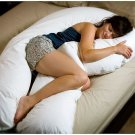 U ShAPE Comfort Over-sized Total Body Maternity Pregnancy Pillow -Full Support